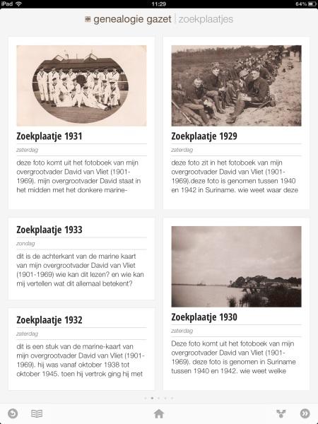 Genealogie Gazet op de iPad - view 6