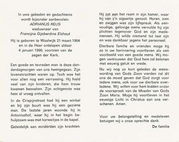 Abbildung bei Adrianus Reus